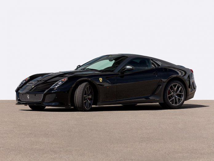 Ferrari 599 GTO auction