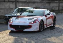 Ferrari F12 Versione Speciale spied front