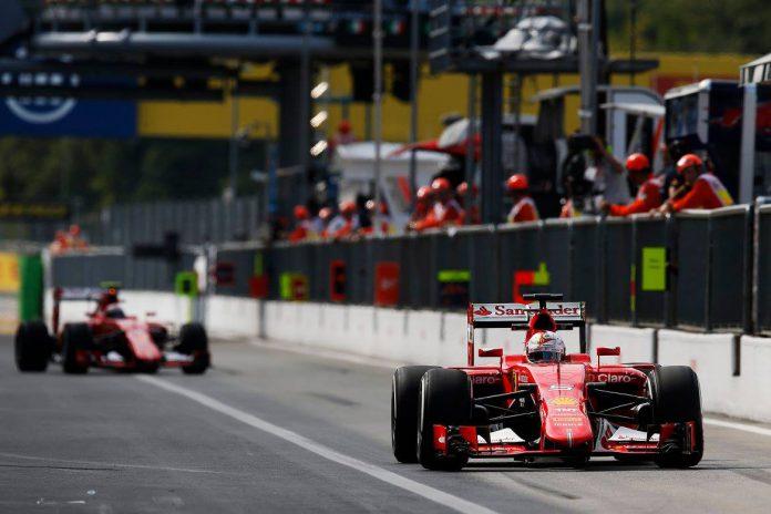 Formula 1 Italian GP 2015 Monza Forza Ferrari