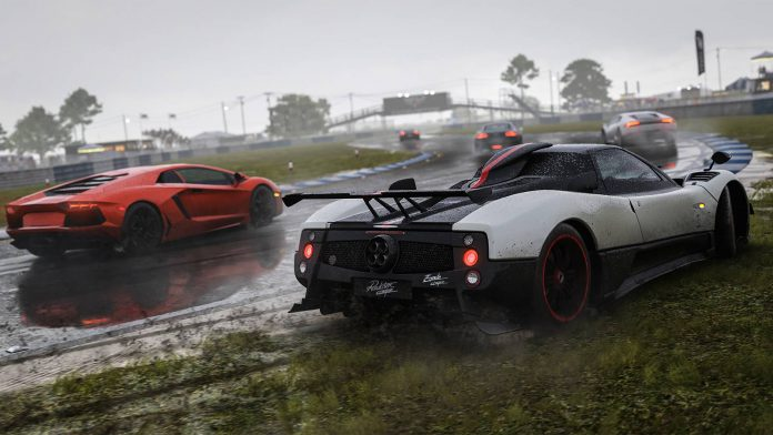 Forza Motorsport 6 Wet Weather Racing Pagani Zonda Cinque