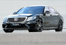 G-Power Mercedes-benz S63 AMG with 705hp