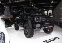 Black Brabus Mercedes-Benz G500 4×4²
