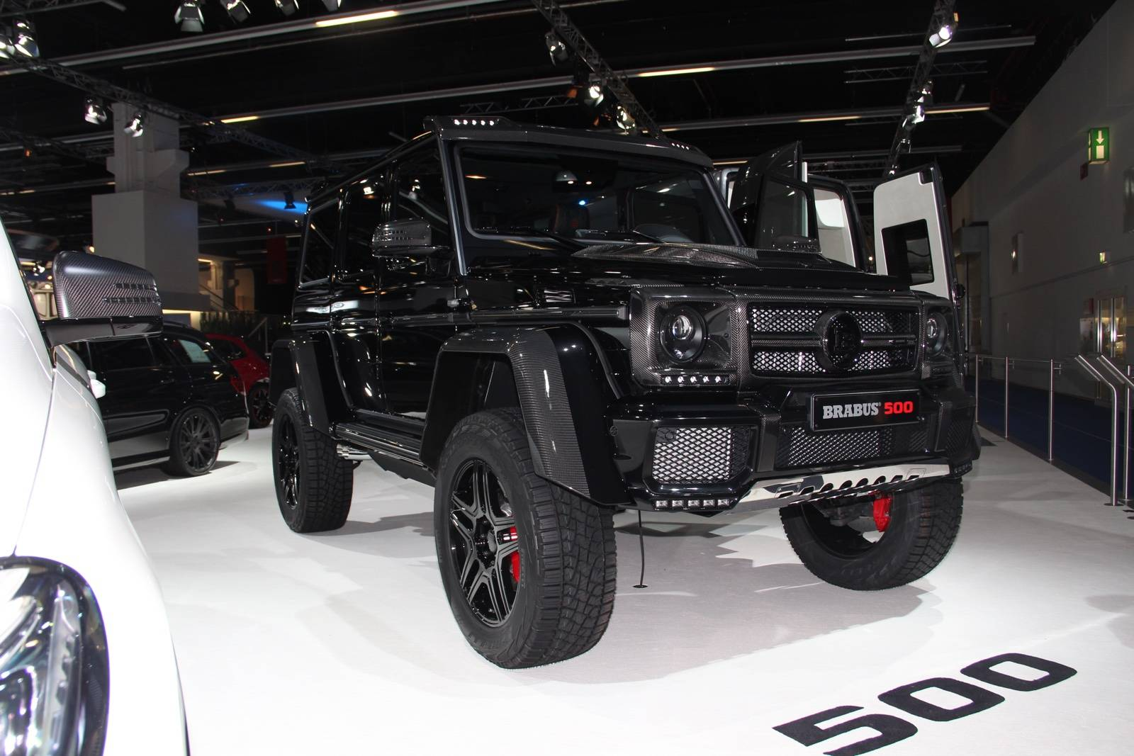 frankfurt 2015 brabus mercedes benz g500 4 4 gtspirit. Black Bedroom Furniture Sets. Home Design Ideas