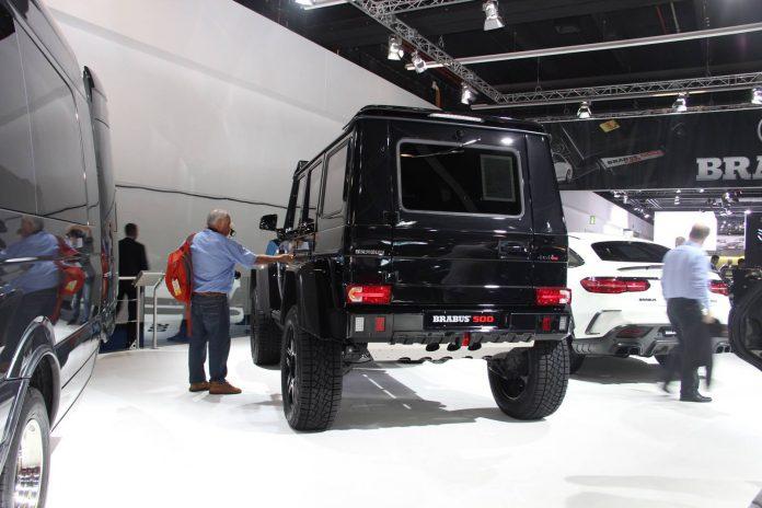 Brabus Mercedes-Benz G500 4×4²