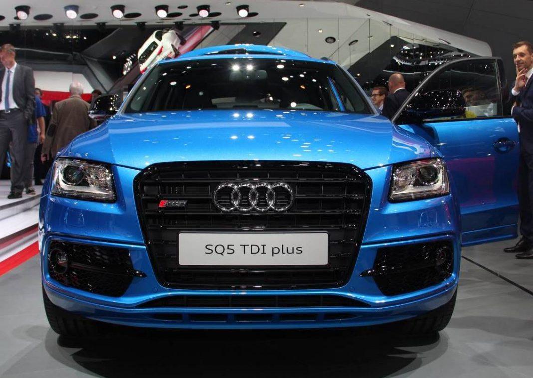 Audi SQ5 TDI Plus front