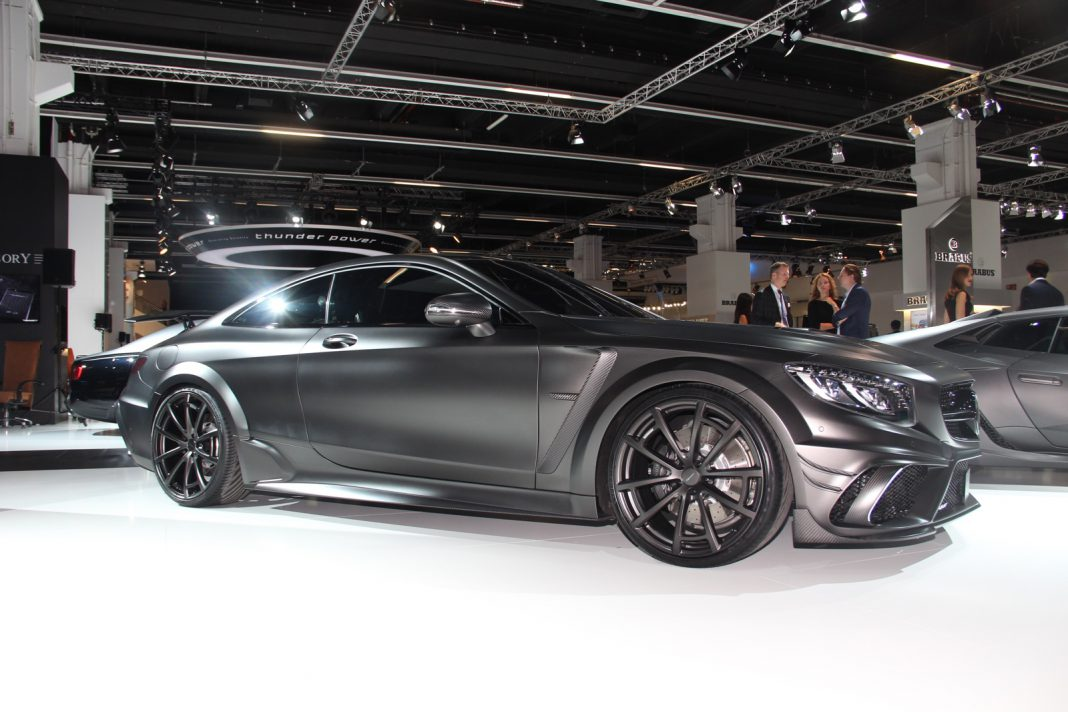 Frankfurt 2015 mansory mercedes benz s63 amg coupe black for Mercedes benz frankfurt