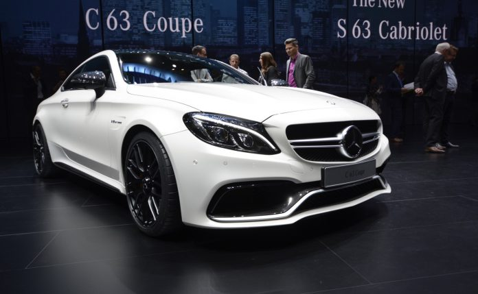 Mercedes-AMG C63 Coupe Frankfurt front