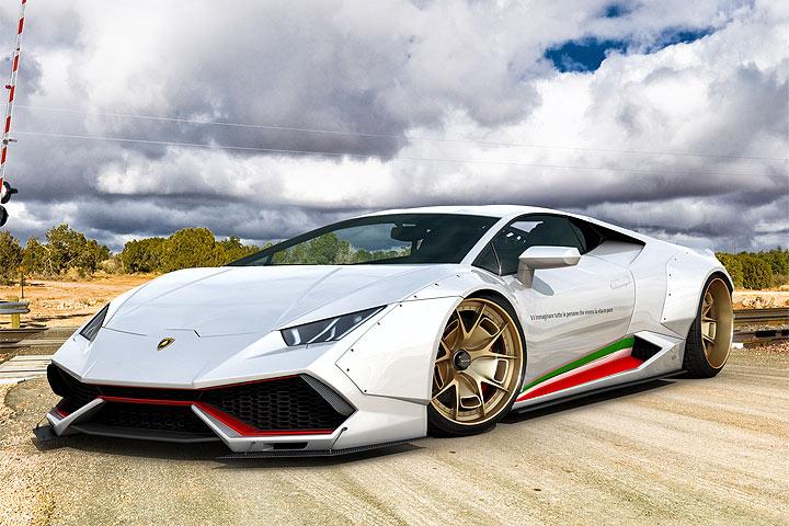 Widebody GWA Lamborghini Huracan
