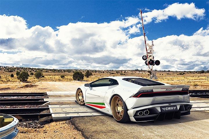 Insane Widebody Lamborghini Huracan By Gwa Gtspirit