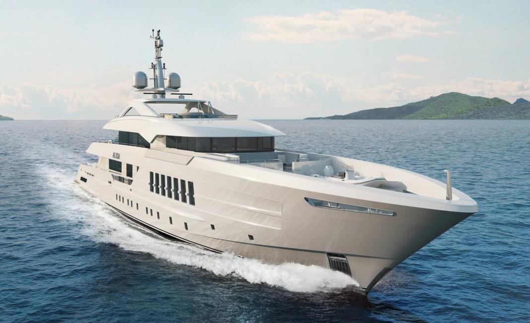 Heesen Yacht Superyacht Alida cruising