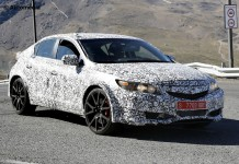Next-gen Honda Civic Type R spied testing