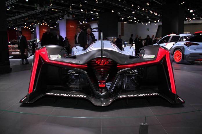 Hyundai Vision Gran Turismo rear