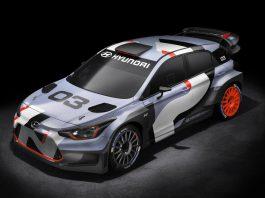 Hyundai i20 WRC front