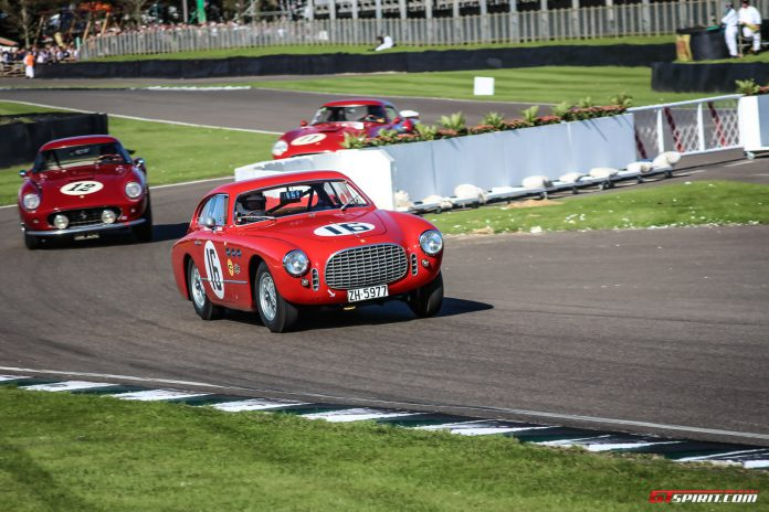Ferrari's at the Goodwood Revival 2015