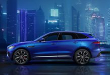 Jaguar F-Pace previewed before Frankfurt 2015