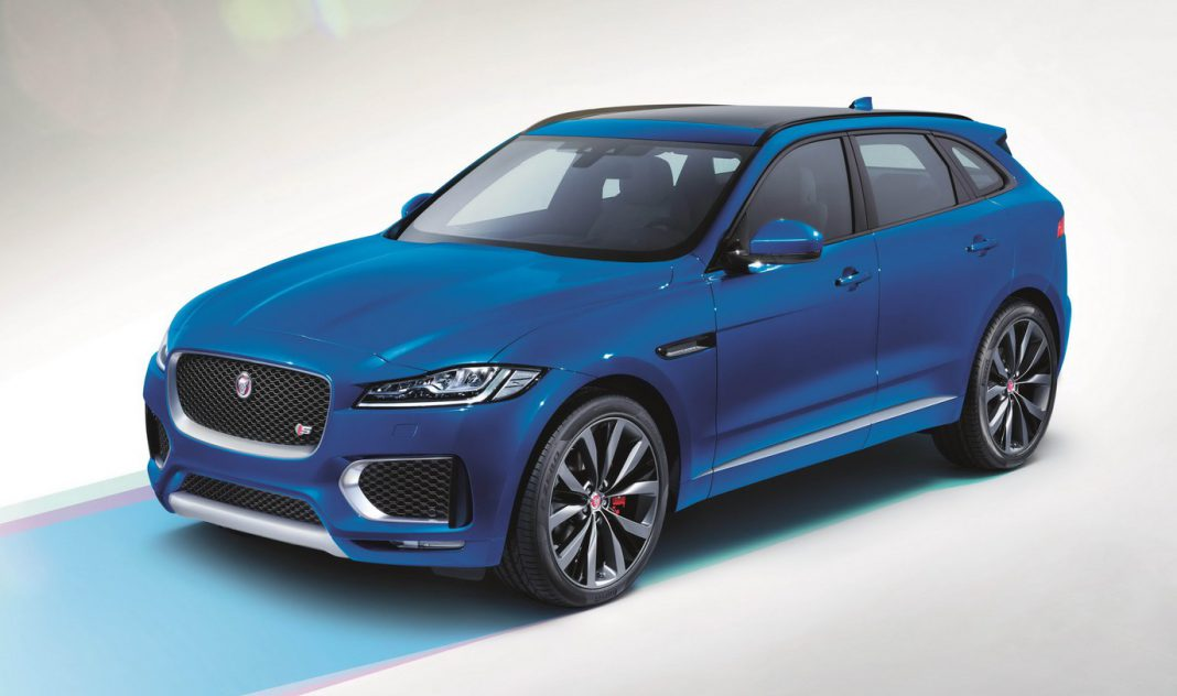 Jaguar F-Pace First Edition front