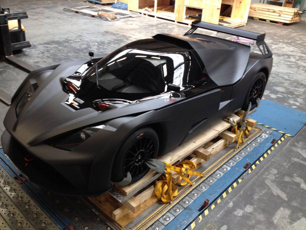 KTM X-Bow GT4 black