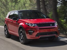 Land Rover Discovery Sport HSE Dynamic Lux front