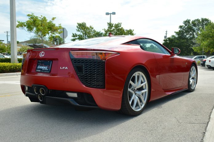 Lexus LFA for sale rear