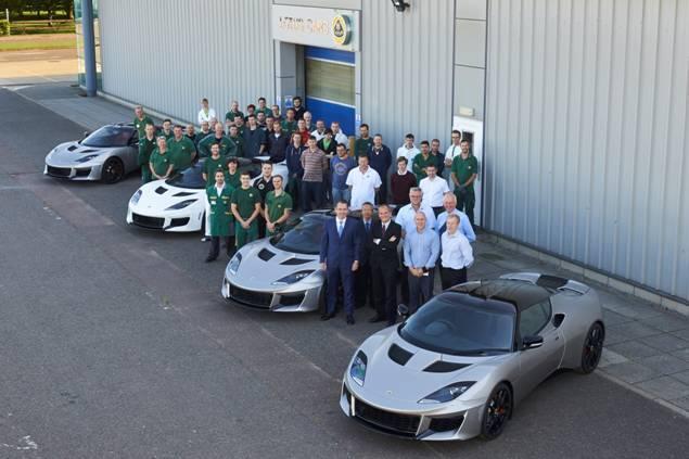 Lotus Evora 400 heading to dealerships