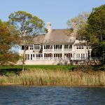 Mansion with lakefront