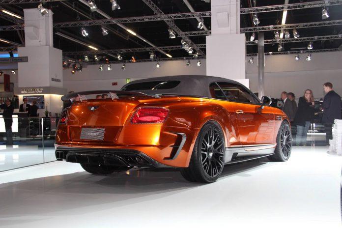 Mansory Bentley Continetal GTC rear