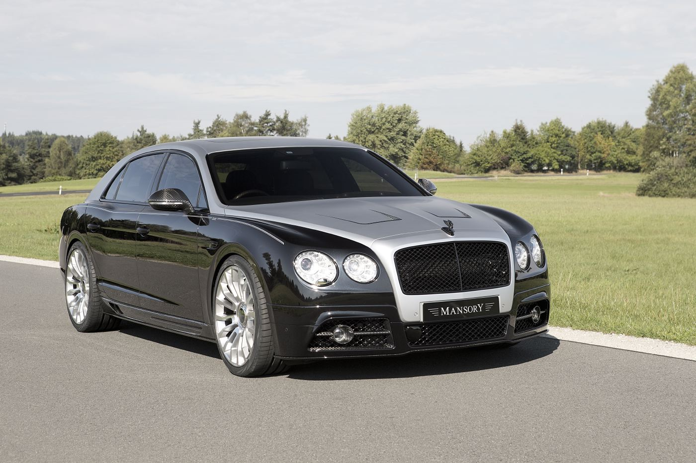 Official Mansory Bentley Flying Spur Gtspirit