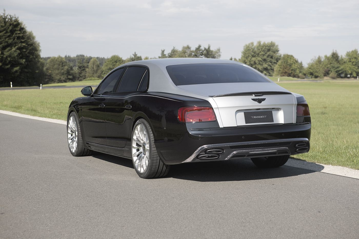 Official: Mansory Bentley Flying Spur