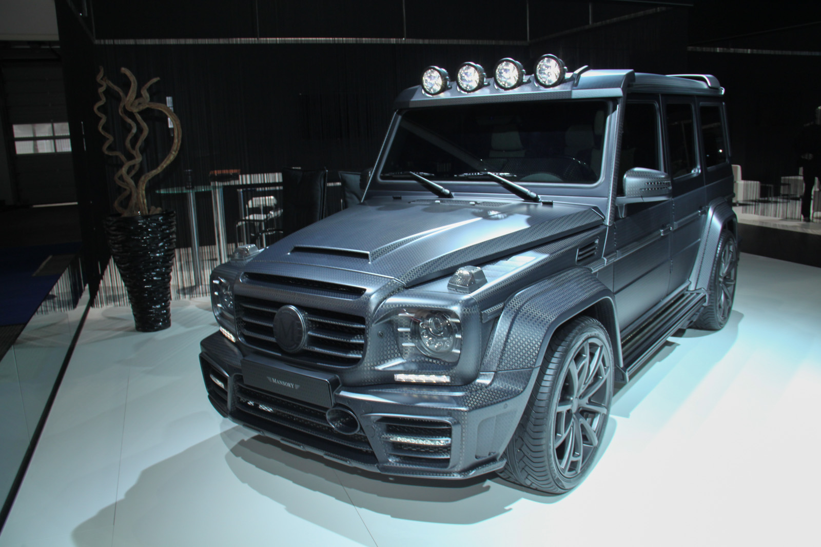 frankfurt 2015 mansory gronos g63 amg black edition gtspirit. Black Bedroom Furniture Sets. Home Design Ideas