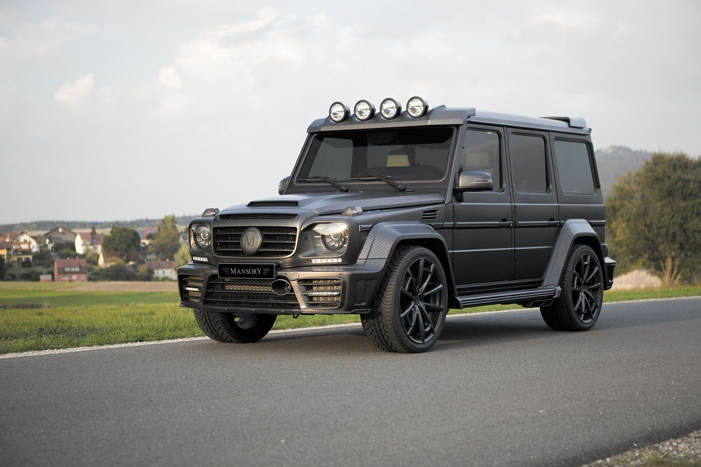 official mansory gronos g63 amg black edition gtspirit. Black Bedroom Furniture Sets. Home Design Ideas