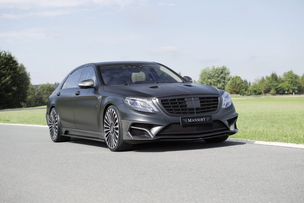 Mansory Mercedes-Benz S63 AMG Black Edition