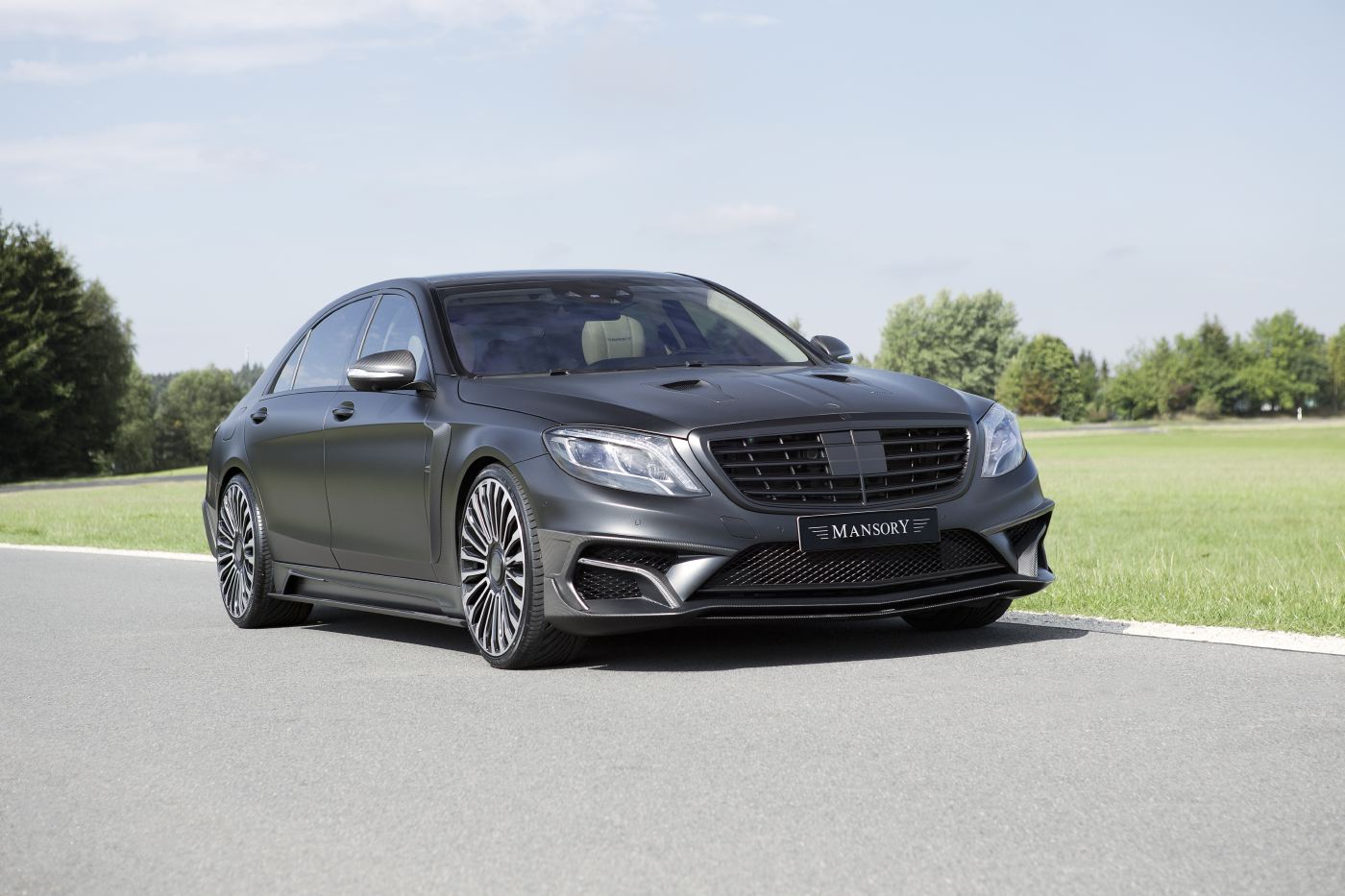 Official mansory mercedes benz s63 amg black edition for Mercedes benz s63 amg coupe