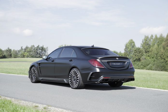 Mercedes-Benz S63 AMG Black Edition