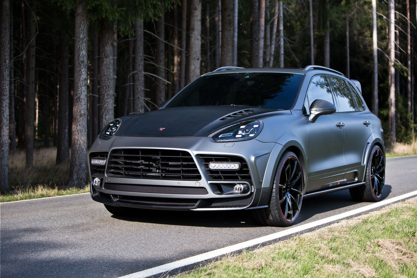 Home Tuning News Mansory Official: Mansory Porsche Cayenne Turbo