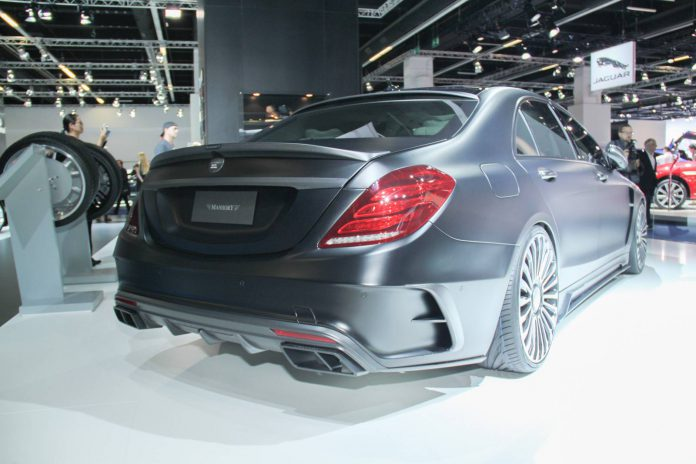 Mansory Mercedes-Benz S63 AMG rear