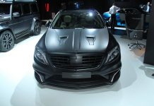 B;ack Mansory Mercedes-Benz S63 AMG