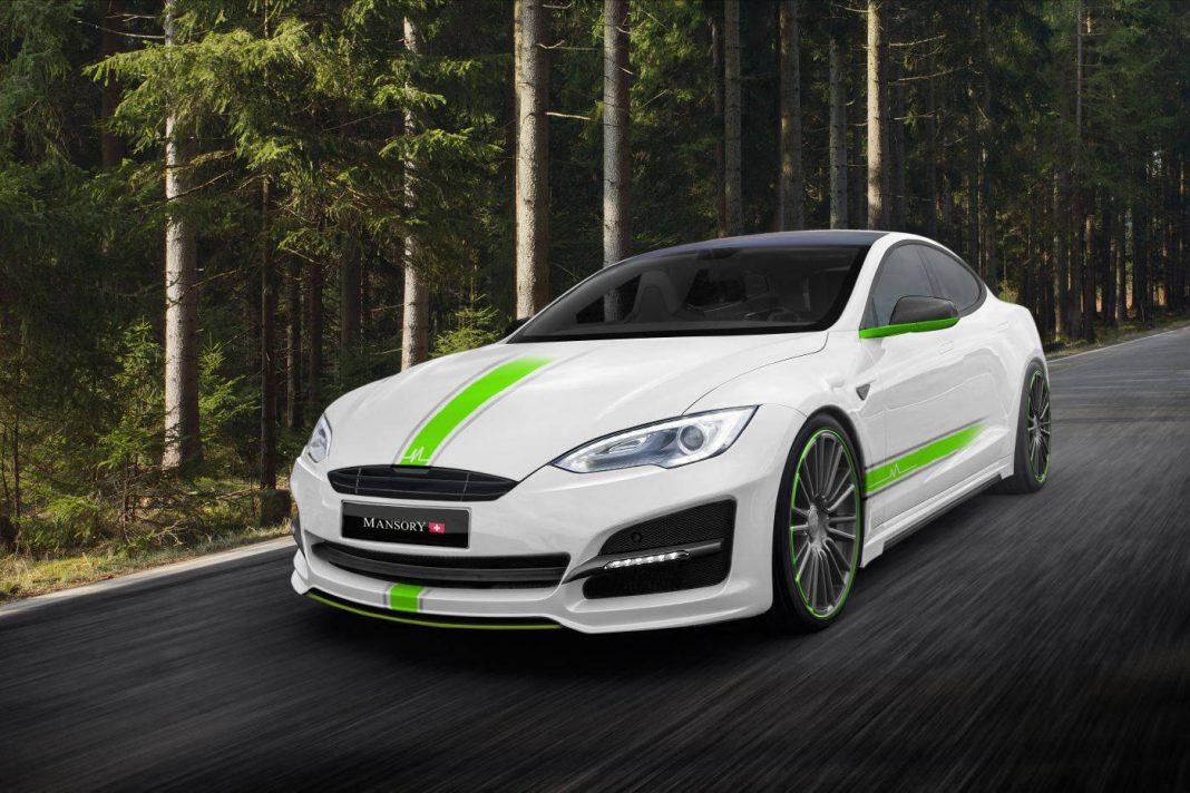 Mansory Tesla Model S front