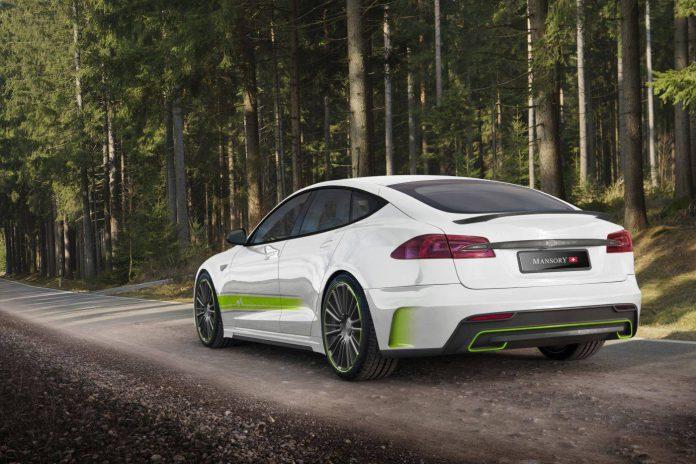 Mansory Tesla Model S rear