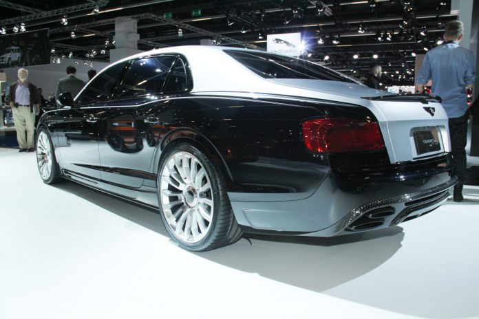 Mansory Flying Spur rear