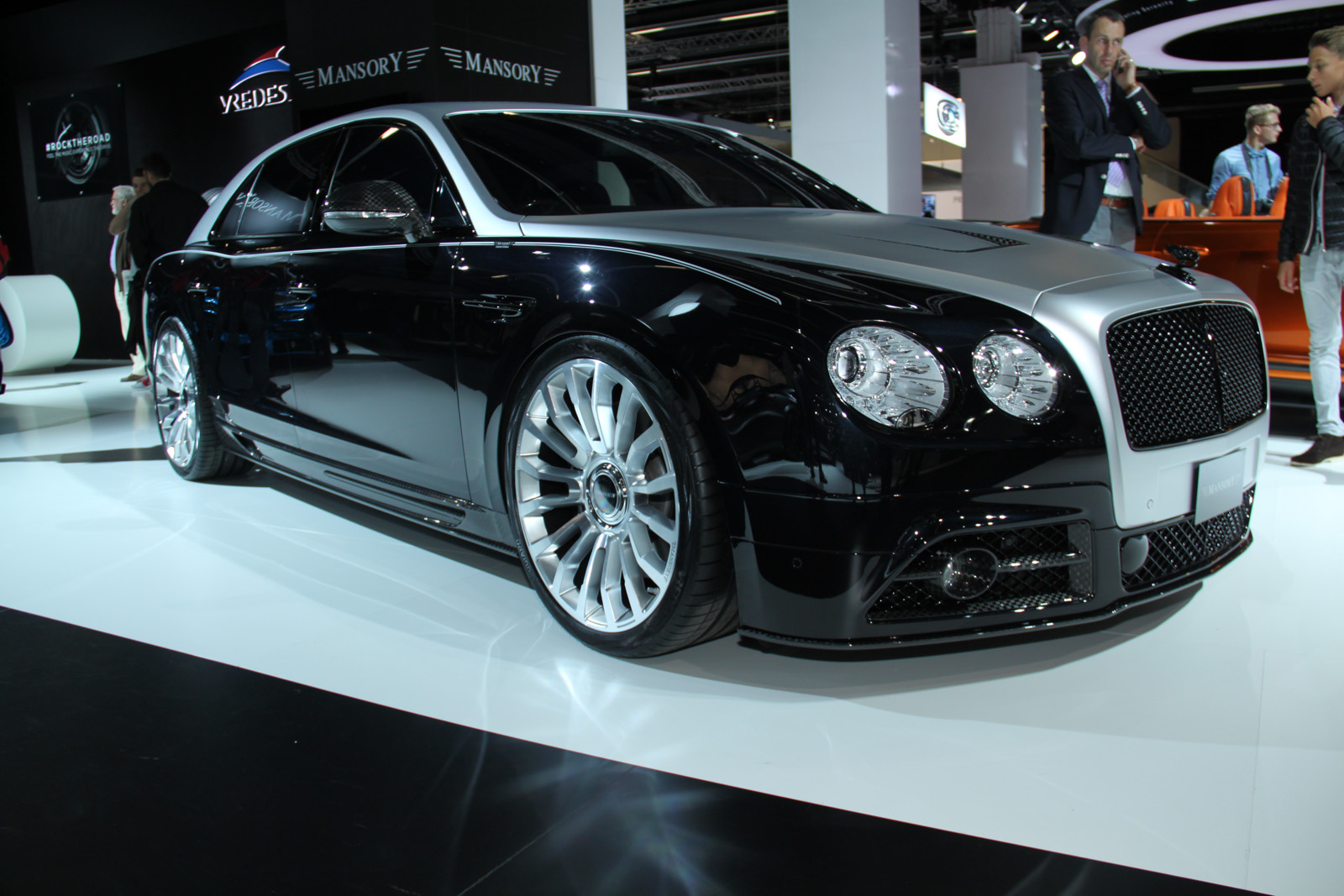 Frankfurt 2015: Mansory Bentley Flying Spur