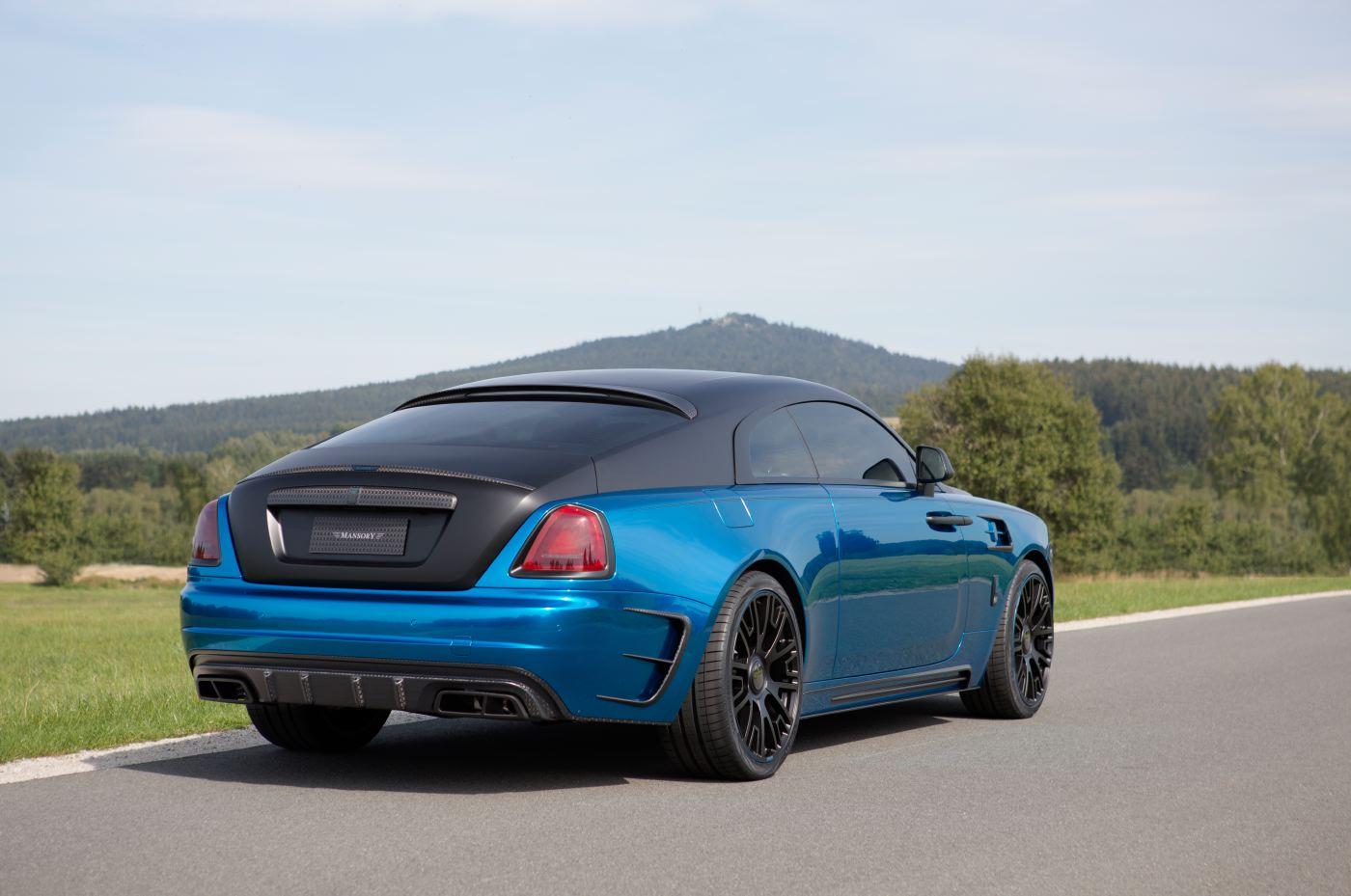 Official 2015 Mansory Rolls Royce Wraith Gtspirit