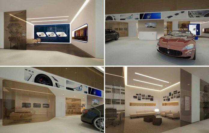Maserati Delhi Showroom AMP Supercars