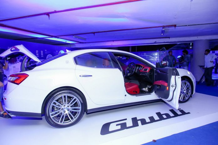 Maserati Delhi Showroom Launch 12