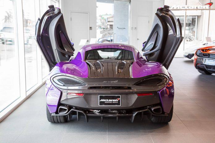 McLaren 570S rear view