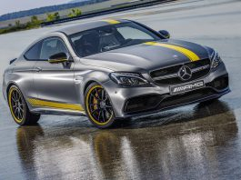 2016 Mercedes-AMG C63 Coupe Edition 1 Front