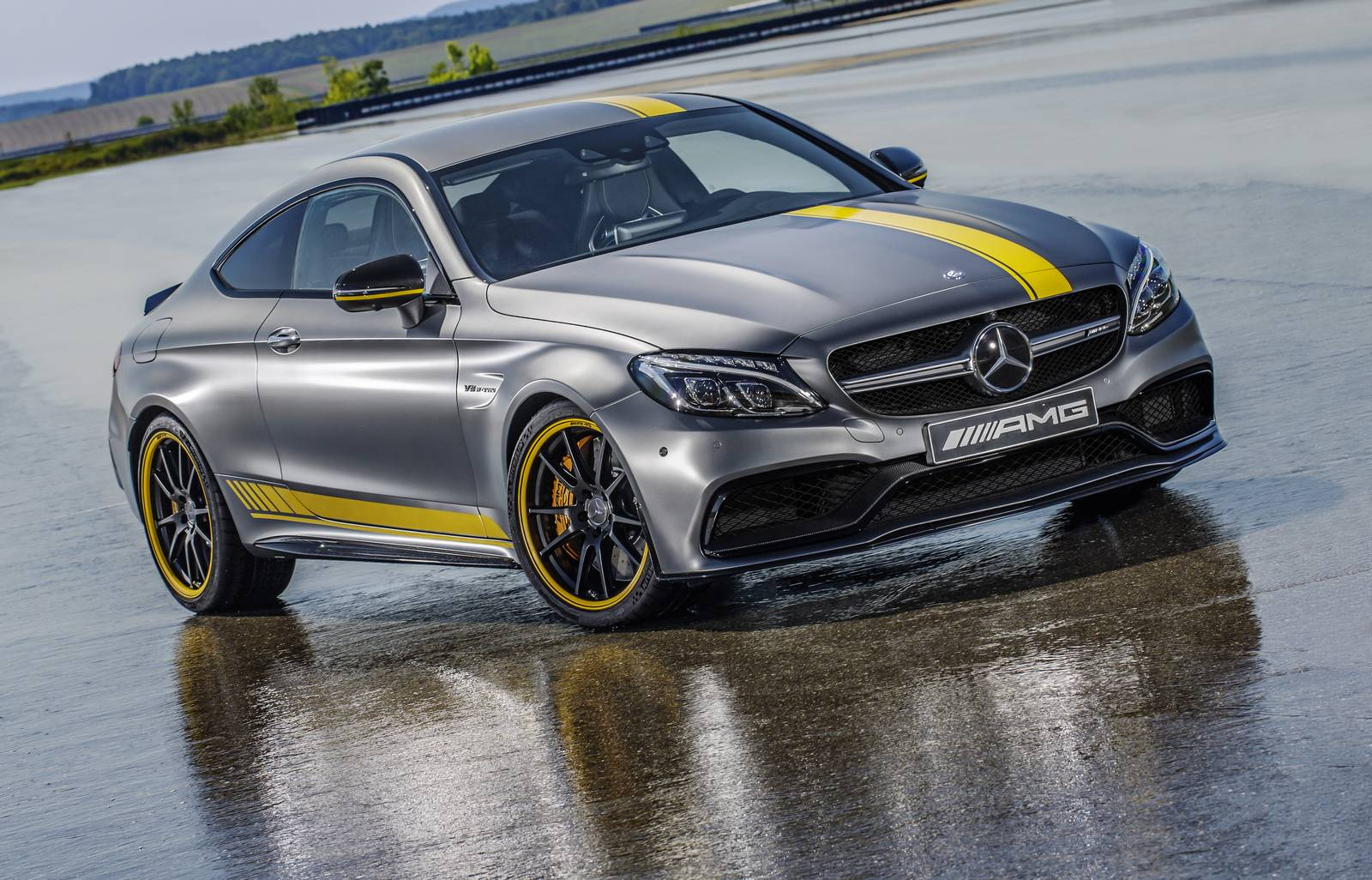 2016 Mercedes Amg C63 Coupe Edition 1 Front