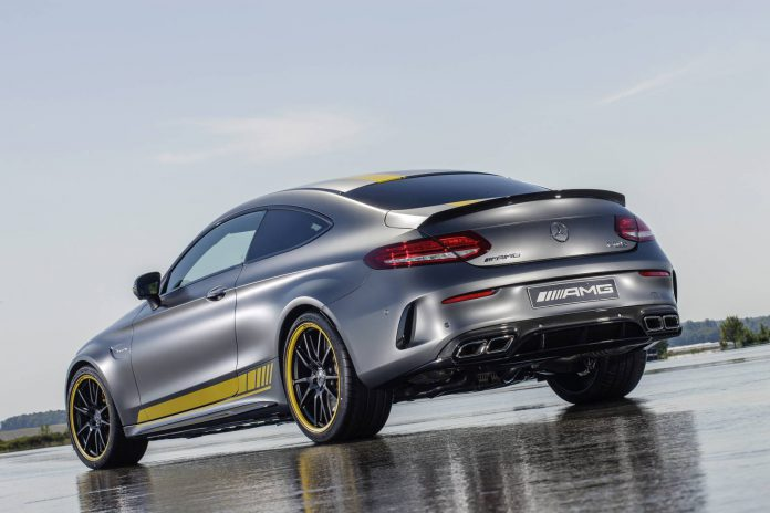 2016 Mercedes-AMG C63 Coupe Edition 1 Rear