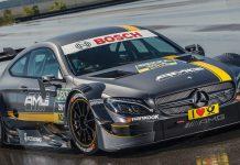 Mercedes-AMG C63 DTM racecar front