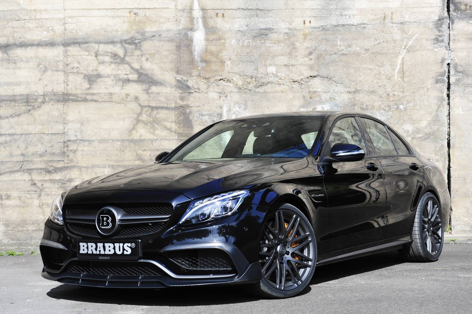 Official 600hp Brabus Mercedes Amg C63 S Gtspirit
