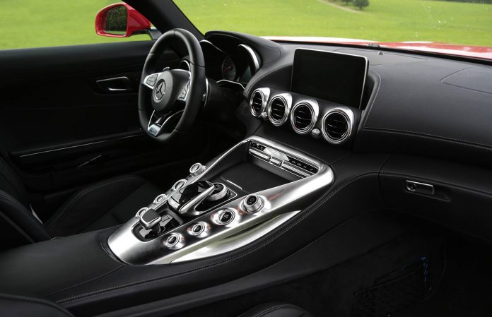 2016 Mercedes-AMG GT interior